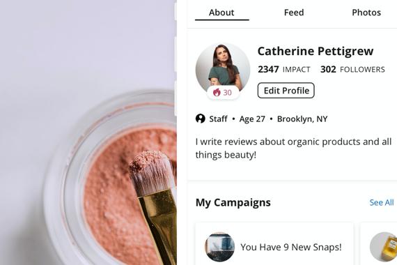 Influenster | Profile Page
