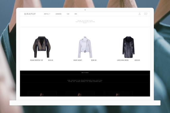Sirapop | eCommerce UX