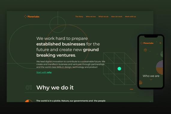 Pioner Labs - Branding & Website