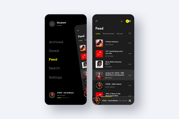 Podcast Application