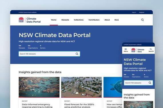 NSW Climate Data Portal