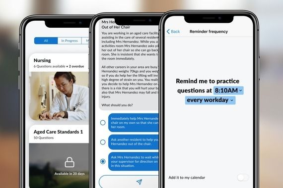 Chatbot Learning App for iOS