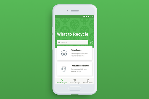 Mobile Assistant for Recycling
