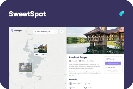 SweetSpot - Vacation Rental MVP