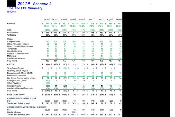 Cloud and SaaS Budget Model