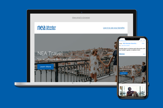 National Education Association (NEA)   Email Design System, Templates, and Usage Guide