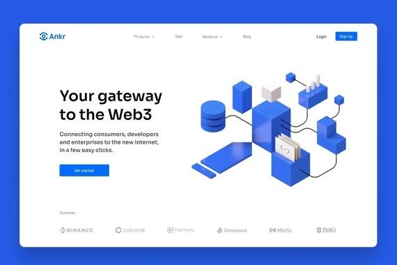 Ankr Website