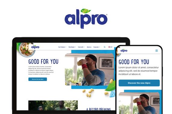 Alpro.com Website