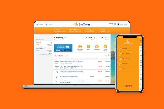 Online Banking for SunTrust
