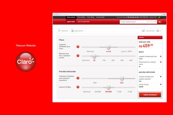 Telecommunication Website