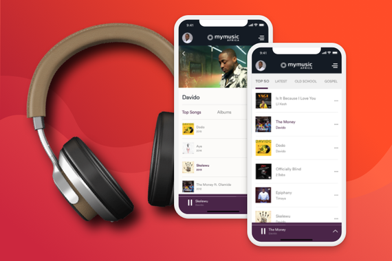 Music Streaming Mobile App | MyMusic