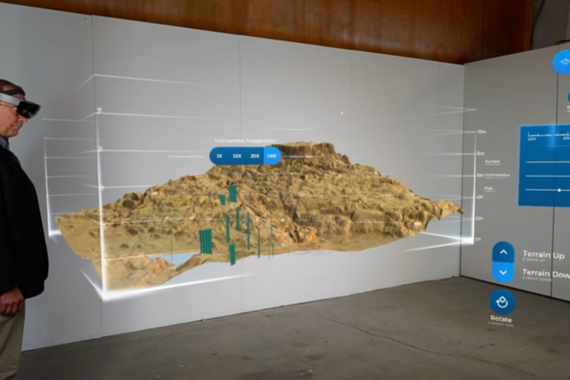 Augmented Reality App for Geohazards