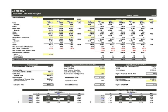 DCF Valuation Template