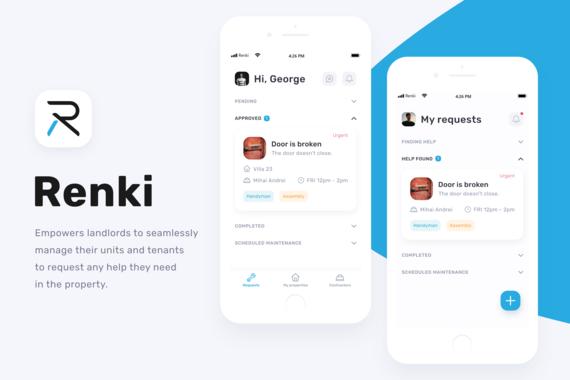 Renki mobile app