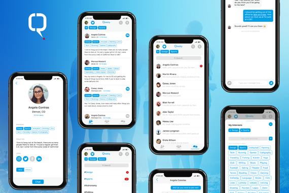 Qrosity: Mobile Social App