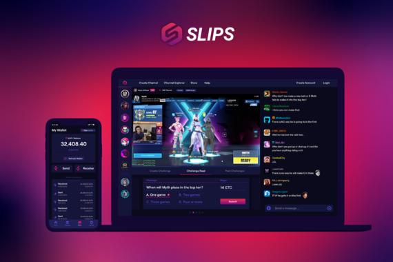 Slips: Blockchain Gaming App