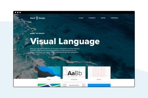 Royal Caribbean's Visual Language