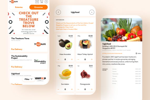 Treatsure: Mobile App That Helps Prevent Food Wastage