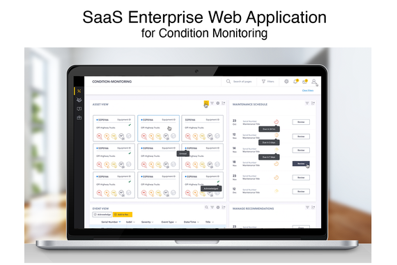 SaaS Enterprise Web Application for Condition Monitoring