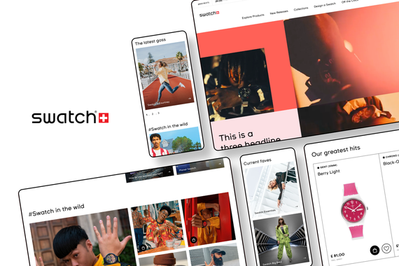 SWATCH | Global eCommerce Redesign