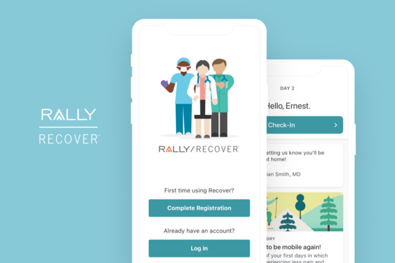 Rally Recover — Patient iOS App