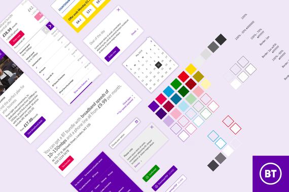 BT Enterprise UI Kit