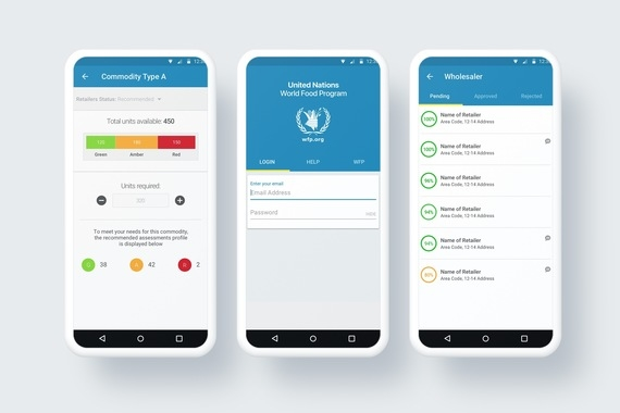 Mobile Apps for United Nations WFP