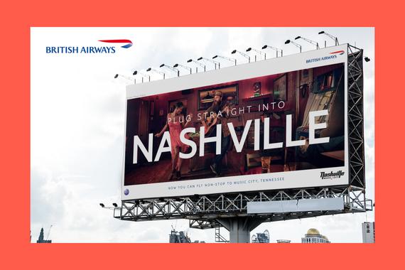 British Airways Nashville Ad Campaign