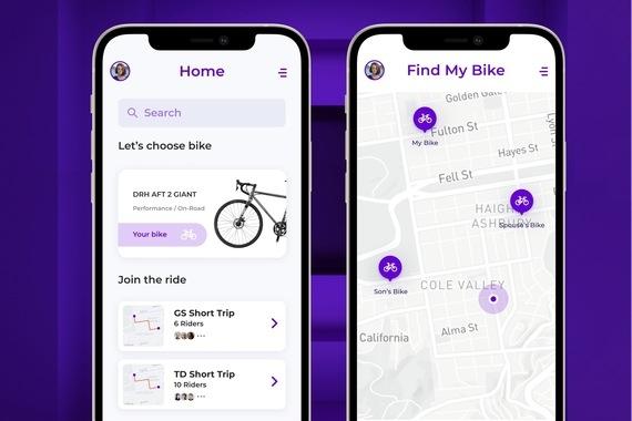 Torakka Tracking Bicycle App