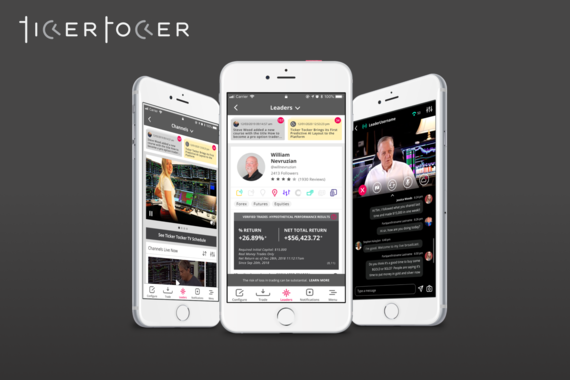 Ticker Tocker Mobile App