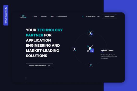 IT Partner Company Website