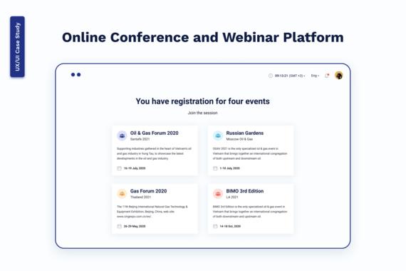 Online Conference and Webinar Platform