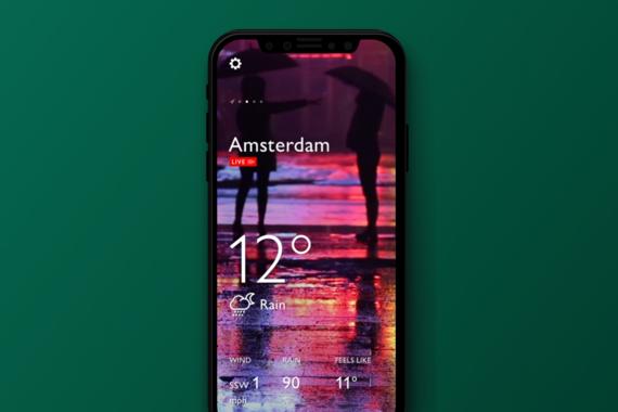 Weathrsm Mobile App