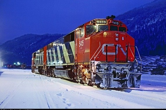 Investment Case For Large Railroad Company