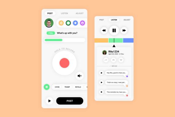 Oddio - Audio-Based Social Media Platform