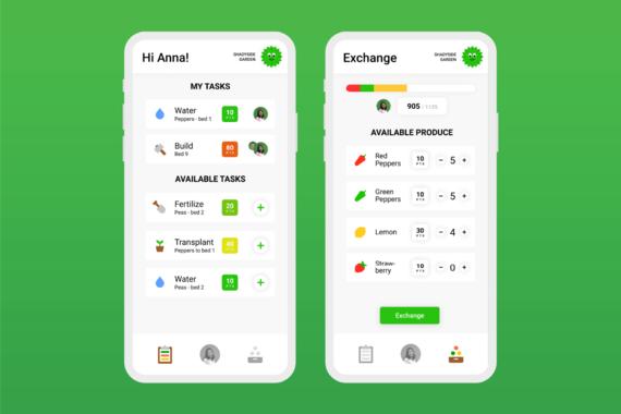 Greenthumb - Labor-Sharing Mobile App for Community Gardening