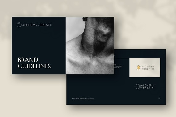 Brand Refresh and Brand Book for Alchemy of Breath