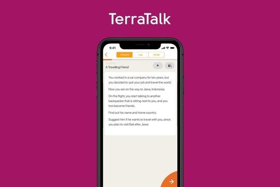 TerraTalk | Improving Confidence to Speak in English