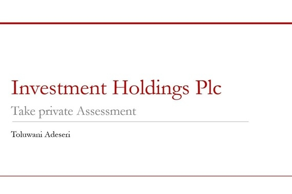 Private Assessment of a $167 Million Paints Company