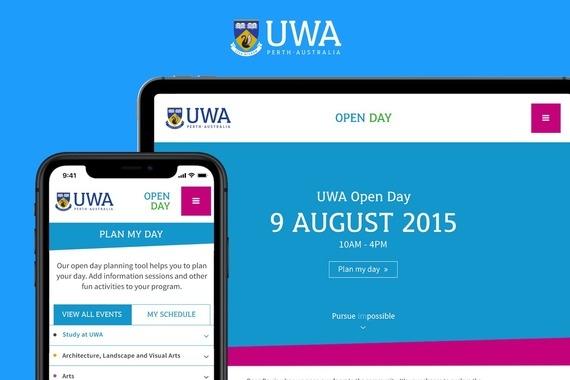 University of Western Australia | Undergrads Open Day Website