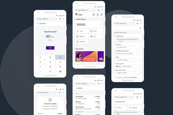 E-wallet Web App Development (Kenya)