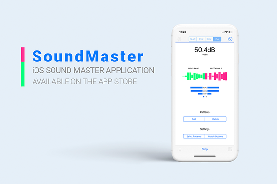 Sound Master App for iOS