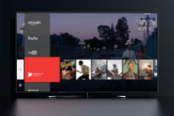 OS Interface for Smart TV