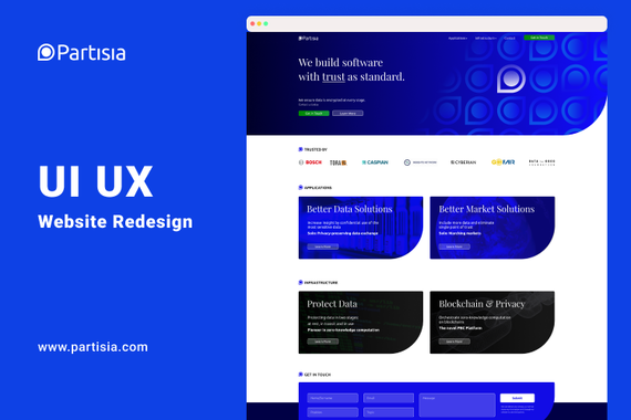 Web Design Partisia