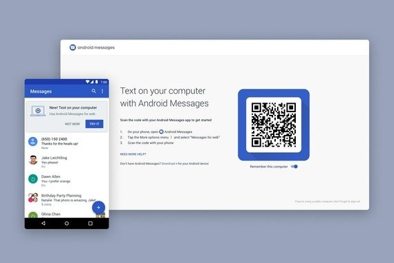 Messages for web   QR Code Pairing