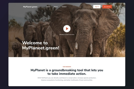 MyPlanet.green | Bringing Transparency to Conservation