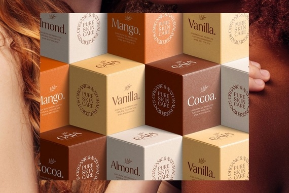 Gaia Skincare | Brand Identity and Packaging Design