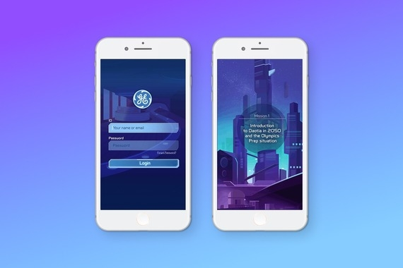 Internal Education App and Game for GE