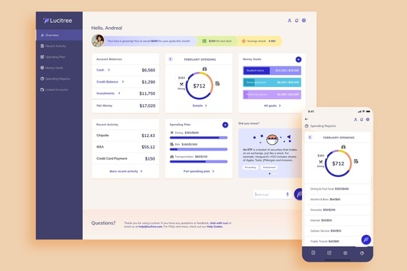 Lucitree Financial Planning App