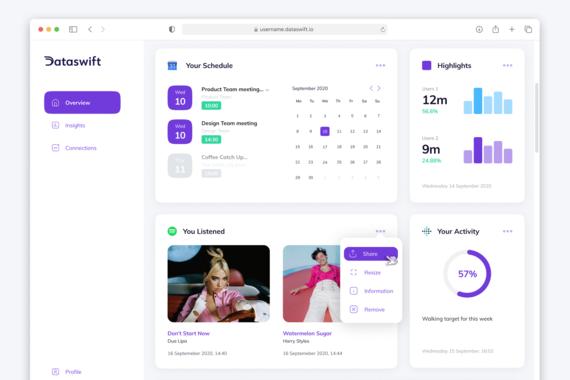 Dataswift Platform | Product Design, UX, and Art Direction